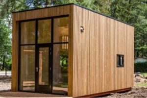 WORKING FROM HOME? TRY A BACKYARD OFFICE SHED